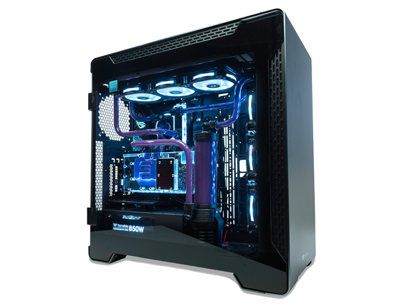 LCGS Sabre Water Cooled Gaming System - RTX 2080 Ti OC
