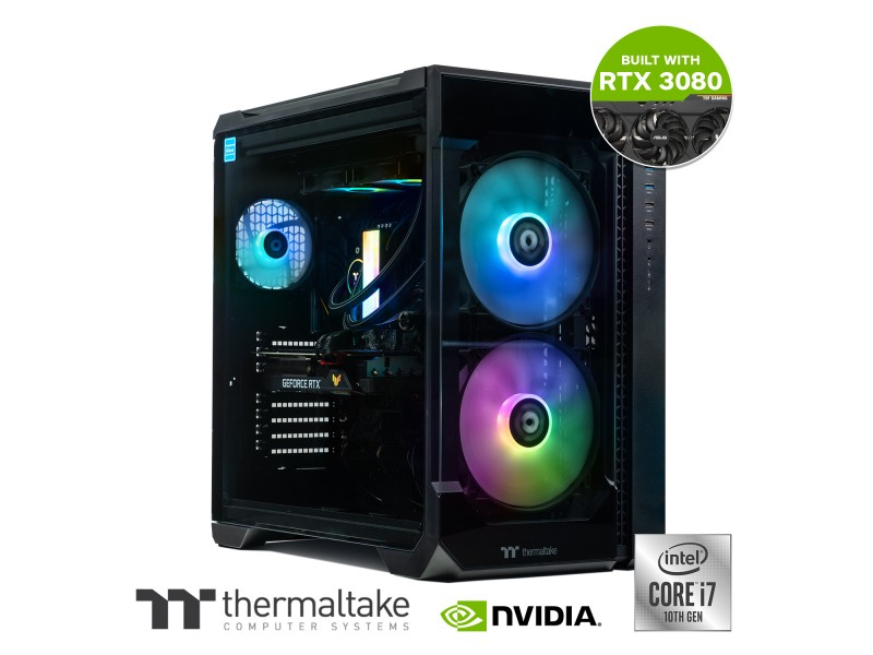 Rapture Xtreme Intel i7 10700KF, RTX 3080, 32GB RAM